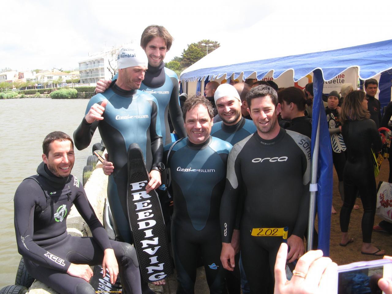Free Diving prêt