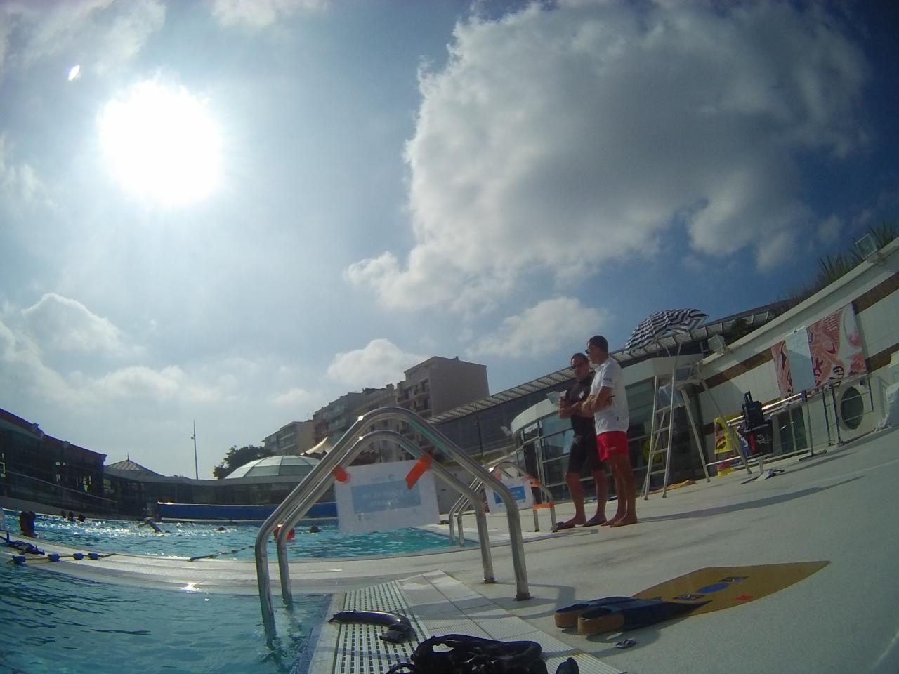 Démonstration et initiation à la piscine du Remblai