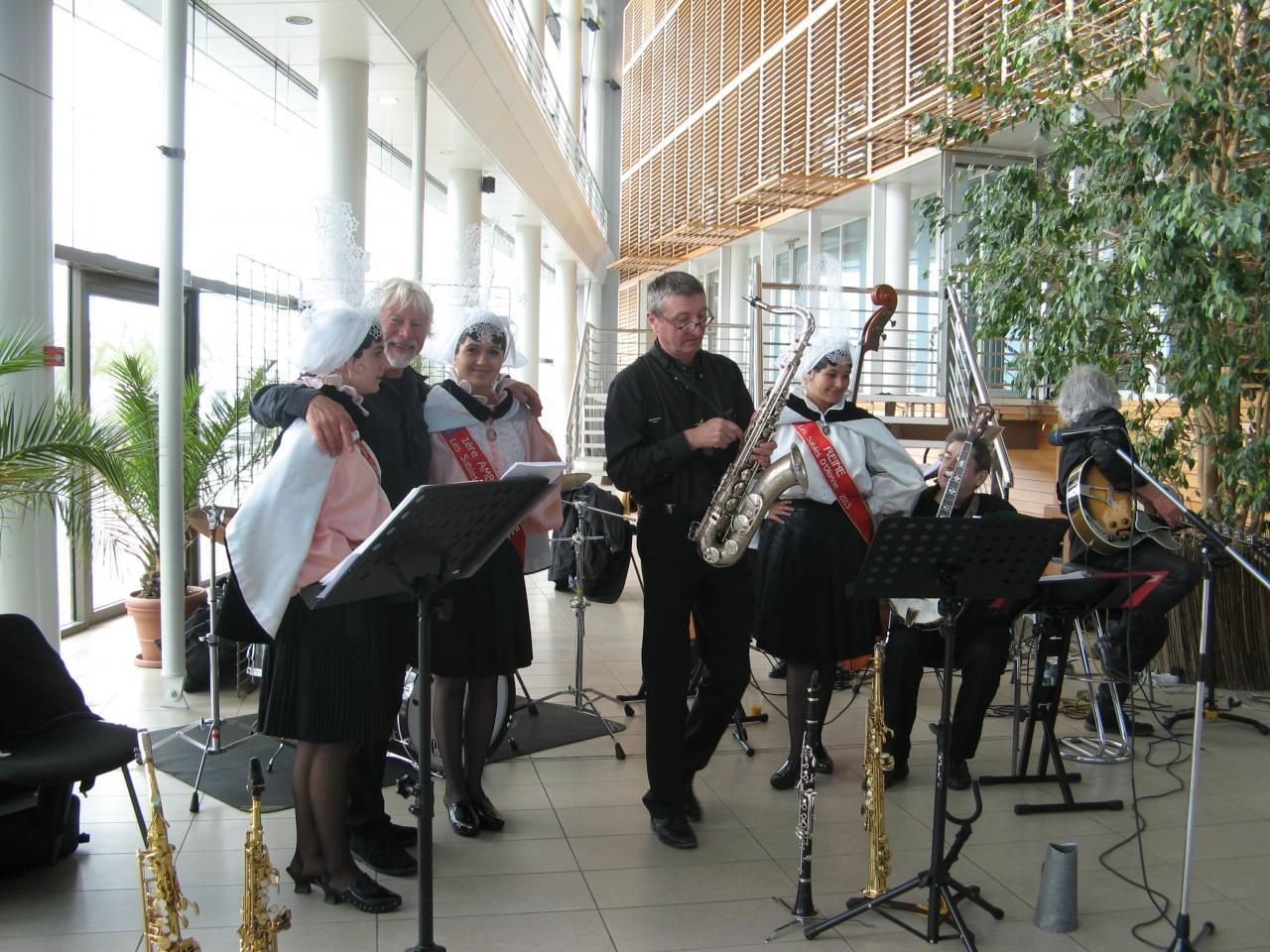 """22 juin 2013 - Orchestre de jazz """"Carbone 14"""""""