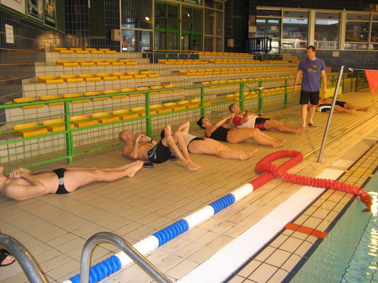 Stage de nage avec palmes