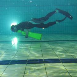 Entraînement piscine