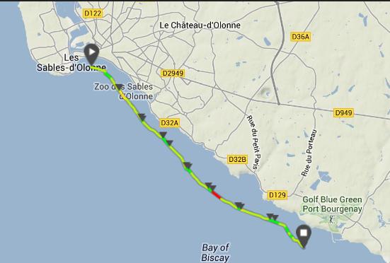 Préparation au raid Ile d'Yeu - Les Sables