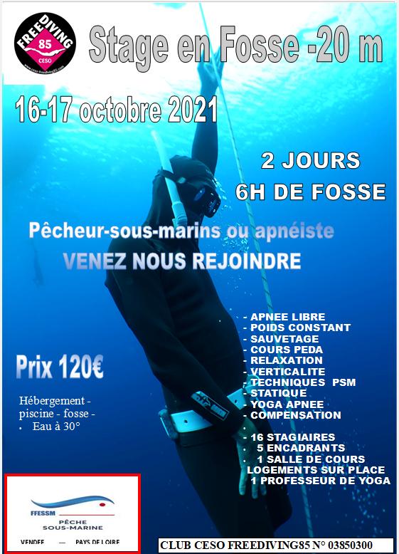 Affiche stage civayx 2021