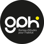 Gph logo rond noir q